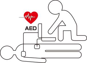 AED自動体外式除細動器の写真素材 [FYI00382723]