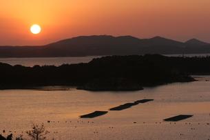 英虞湾の夕景の写真素材 [FYI00383069]