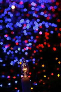 クリスマスイルミネーションの写真素材 [FYI00383138]