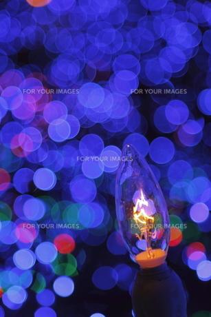 クリスマスイルミネーションの写真素材 [FYI00383147]