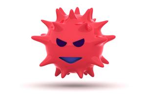 ウイルスの写真素材 [FYI00383376]