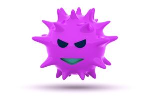 ウイルスの写真素材 [FYI00383386]
