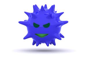 ウイルスの写真素材 [FYI00383388]