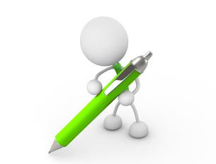 ペンを持つの写真素材 [FYI00383503]
