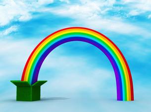 虹の写真素材 [FYI00383629]