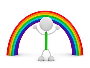 虹の写真素材 [FYI00383638]
