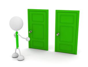 ドアの写真素材 [FYI00383642]