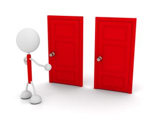 ドアの写真素材 [FYI00383647]