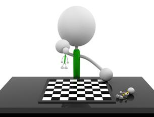 チェスの写真素材 [FYI00383695]