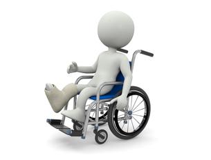 車椅子の写真素材 [FYI00383710]