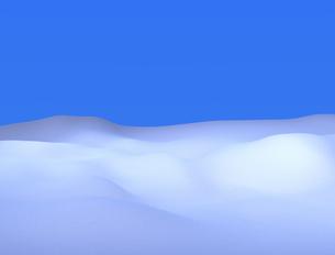 雪原の写真素材 [FYI00383732]