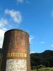 山口線篠目駅の使われなくなったSL用給水塔の写真素材 [FYI00383741]