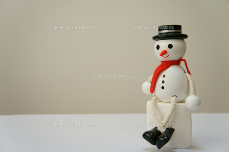 雪だるまの素材 [FYI00384509]