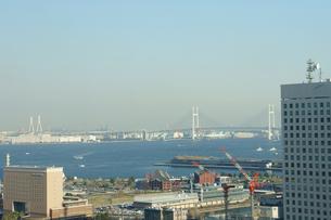 みなとみらいから見える横浜ベイブリッジの素材 [FYI00384545]
