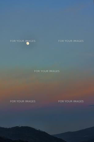 箱根の日暮れの景色の素材 [FYI00384604]
