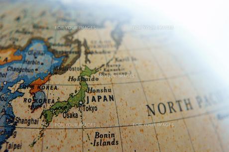 地球儀 日本の素材 [FYI00384822]