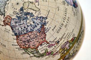 地球儀 北アメリカの素材 [FYI00384827]