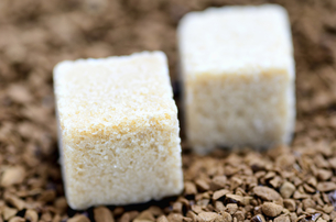 角砂糖とインスタントコーヒーの素材 [FYI00384990]