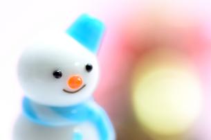 雪だるまの素材 [FYI00385001]
