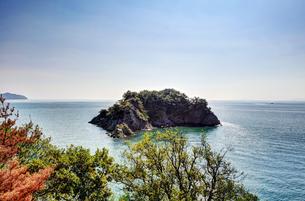 仙酔島から見える無人島の素材 [FYI00386374]