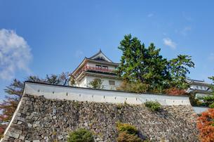 福山城 二の丸南側の石垣の素材 [FYI00386389]