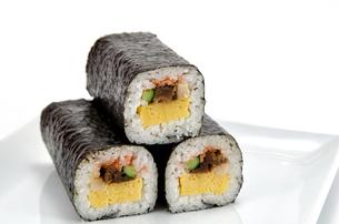 巻き寿司の素材 [FYI00386473]