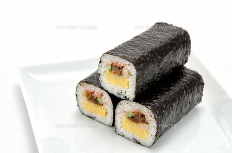 巻き寿司の素材 [FYI00386478]