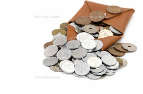 小銭入れと硬貨の素材 [FYI00386771]