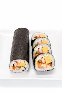 海鮮巻き寿司の素材 [FYI00386950]