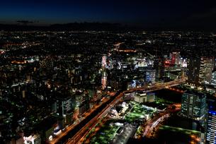 横浜みなとみらいの夜景の素材 [FYI00387046]