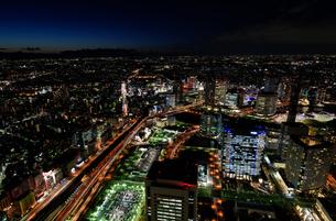 横浜みなとみらいの夜景の素材 [FYI00387058]
