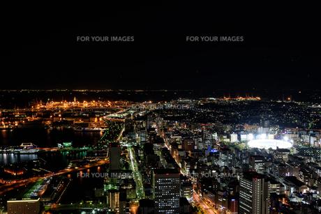 横浜みなとみらいの夜景の素材 [FYI00387068]