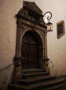 ドイツ中世のドアの写真素材 [FYI00387359]