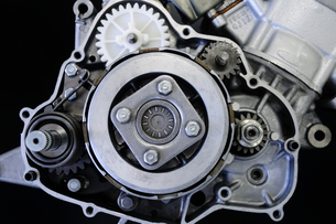 バイクのエンジンの写真素材 [FYI00387466]