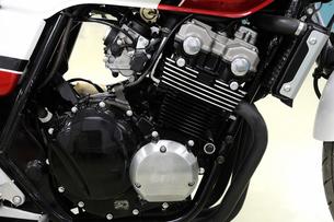 バイクのエンジンの写真素材 [FYI00387492]