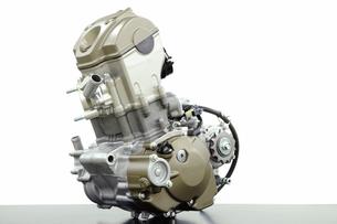 バイクのエンジン単体の写真素材 [FYI00387517]