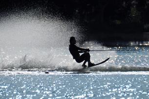 水上スキーの素材 [FYI00387554]