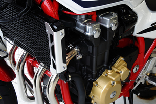 バイクのエンジンの写真素材 [FYI00387576]