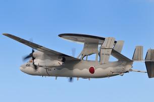 E-2C早期警戒機の写真素材 [FYI00387610]