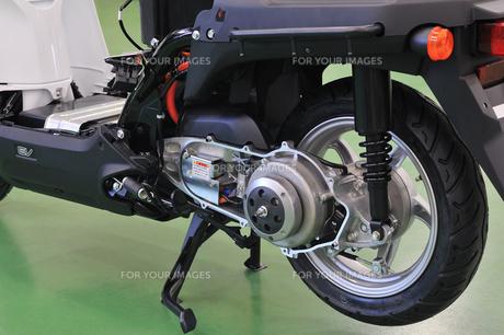 電動バイクの写真素材 [FYI00387919]