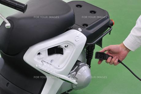電動バイクの写真素材 [FYI00387932]