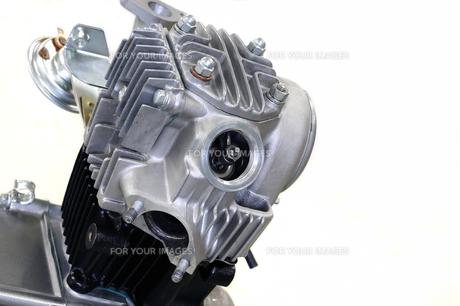 バイクのエンジンの写真素材 [FYI00387975]