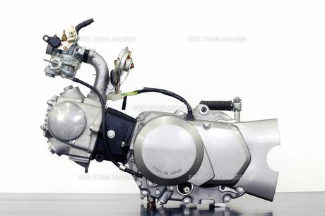 バイクのエンジン単体の写真素材 [FYI00387985]