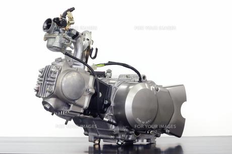 バイクのエンジン単体の写真素材 [FYI00387987]