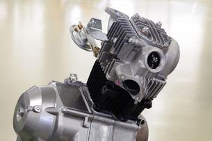 バイクのエンジンの写真素材 [FYI00387999]
