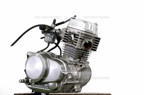 バイクのエンジン単体の写真素材 [FYI00388079]