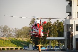 防災ヘリの写真素材 [FYI00388099]