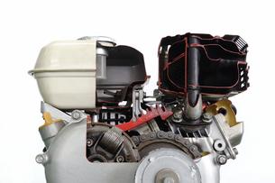 汎用エンジンのカットモデルの写真素材 [FYI00388101]