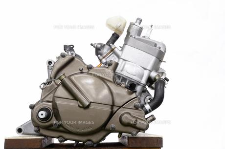 バイクのエンジンの写真素材 [FYI00388170]