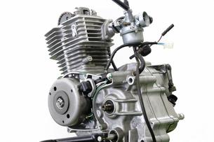 バイクのエンジンの写真素材 [FYI00388223]